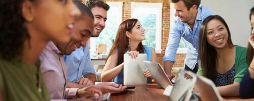 Projekträume verbessern die Zusammenarbeit
