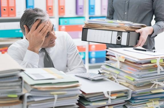 Digitale Akten entlasten Ihren Schreibtisch