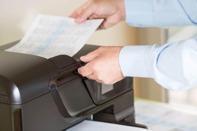 Scannen und Erkennen von Dokumenten