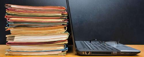 Digitale Archivierung von Dokumenten
