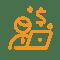 Bearbeitungskosten-orange