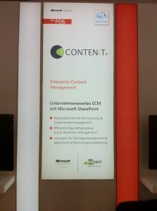 CONTENiT AG bei Microsoft auf der CeBIT 2011