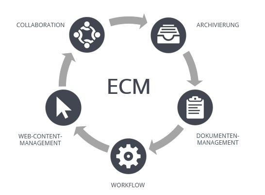 Disziplinen des Enterprise Content Managements