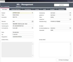 Kfz Management Software; Digitale Akten