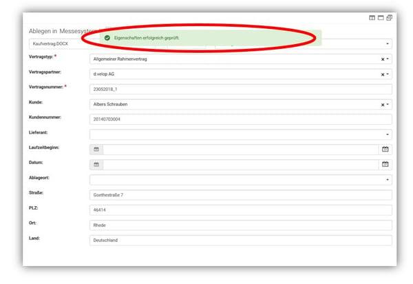 digitale Ablage Kundendaten