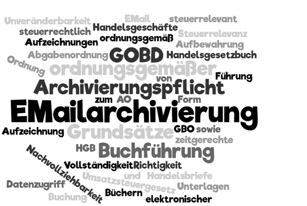 Revisionssichere E-Mail Archivierung