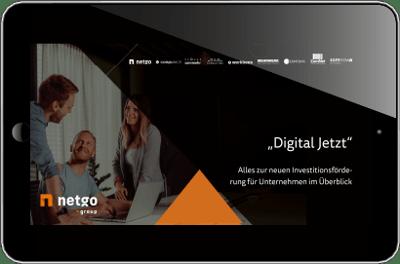 Foederung Digital Jetzt WHitepaper Vorschau Tablet