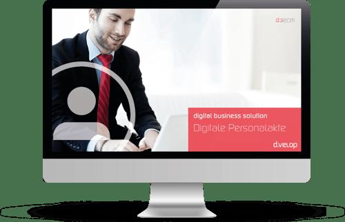 Informationen zur digitalen Personalakte