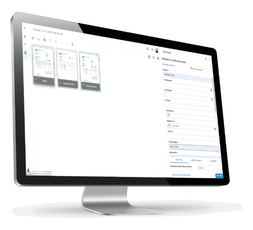 digitale Postverarbeitung Prozess
