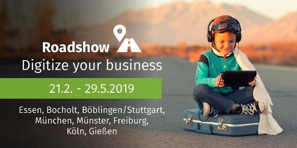 Roadshow_CONTENiT Netgo Digitize your business. Der digitale Arbeitsplatz